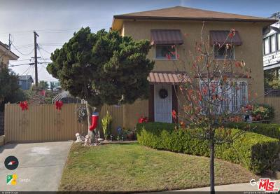 Los Angeles Single Family Home For Sale: 1917 West View Street