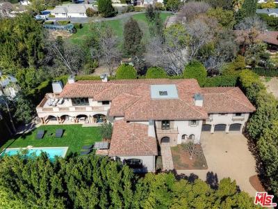 Toluca Lake Single Family Home For Sale: 10313 Woodbridge Street