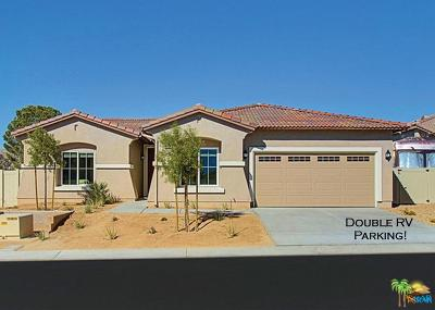 Desert Hot Springs Single Family Home Active Under Contract: 64346 Silver Star Avenue Avenue