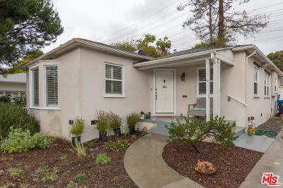 Culver City Single Family Home For Sale: 4174 Jasmine Avenue