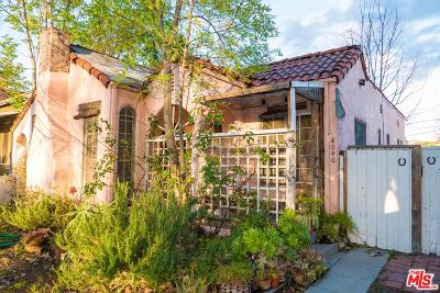 Single Family Home For Sale: 4040 Cartwright Avenue