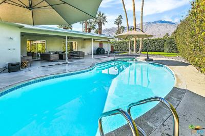 Palm Springs Single Family Home Active Under Contract: 2188 Paseo Roseta