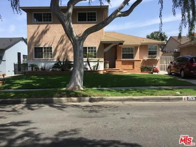 Inglewood Single Family Home For Sale: 2531 West 112th Street