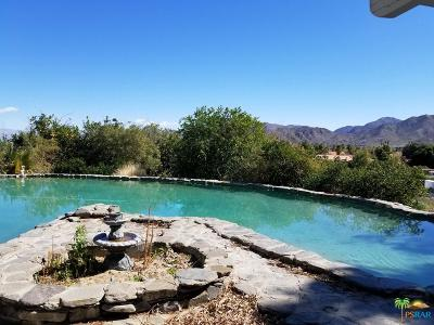 Riverside County Single Family Home For Sale: 71625 Cholla Way