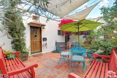 West Hollywood Single Family Home For Sale: 1538 North Crescent Heights