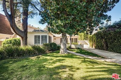 Los Angeles County Single Family Home Active Under Contract: 745 North Alta Vista