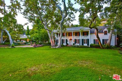 Single Family Home For Sale: 2220 Mandeville Canyon Road