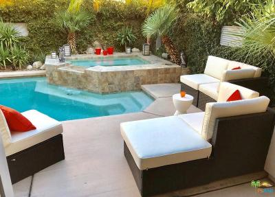 Palm Springs Condo/Townhouse Active Under Contract: 3552 Melody Lane