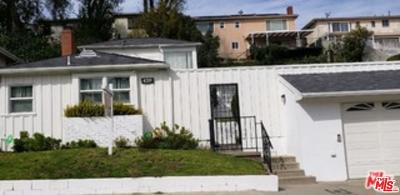 Los Angeles Single Family Home For Sale: 4219 Don Luis Drive