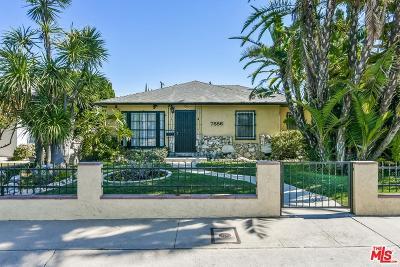 Single Family Home For Sale: 7886 Truxton Avenue
