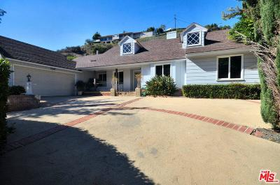 Single Family Home For Sale: 2279 Coldwater Canyon Drive