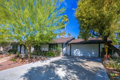 Palm Springs Single Family Home Active Under Contract: 3554 East Escoba Drive