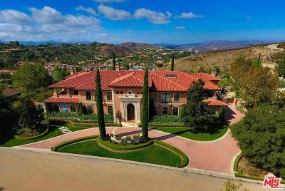 Calabasas CA Single Family Home For Sale: $10,980,000