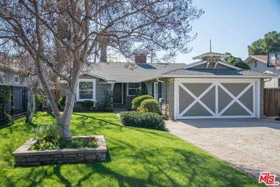 Sherman Oaks Single Family Home For Sale: 13618 Addison Street
