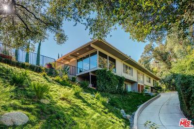 Pasadena Single Family Home For Sale: 1490 El Mirador Drive