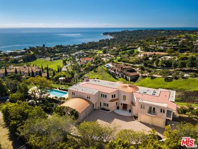 Malibu Single Family Home For Sale: 27445 Winding Way