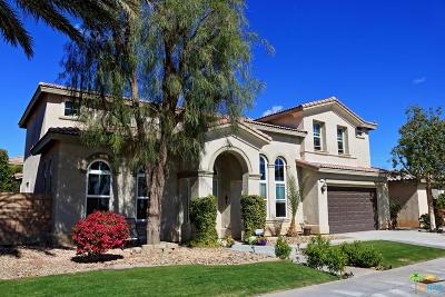 Indio Single Family Home Active Under Contract: 81800 Via Parco Drive
