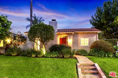 Los Angeles County Single Family Home Active Under Contract: 751 North Poinsettia Place