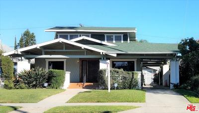 Los Angeles Single Family Home Active Under Contract: 2212 West Boulevard
