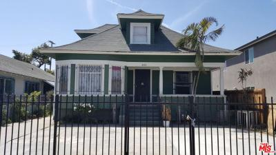 Single Family Home For Sale: 3757 Woodlawn Avenue