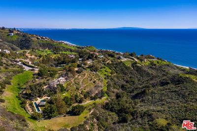 Malibu CA Single Family Home For Sale: $14,495,000