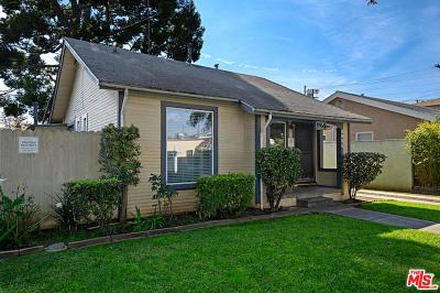 Los Angeles Single Family Home Active Under Contract: 8966 Cadillac Avenue