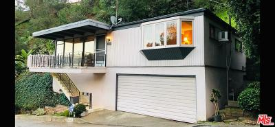 Single Family Home For Sale: 8950 Hollywood Hills Road