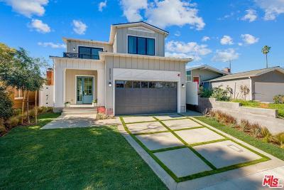 Manhattan Beach Single Family Home Active Under Contract: 3513 Elm Avenue