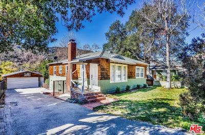 La Crescenta Single Family Home Active Under Contract: 3430 Montrose Avenue
