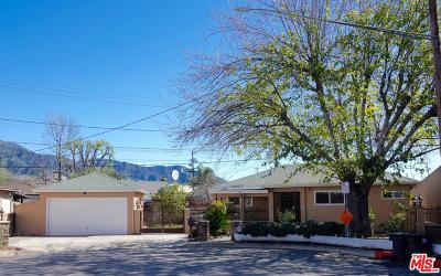 Burbank Single Family Home Active Under Contract: 1100 Leland Way