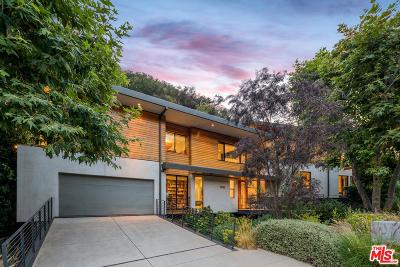 Los Angeles Single Family Home Active Under Contract: 3585 Mandeville Canyon Road