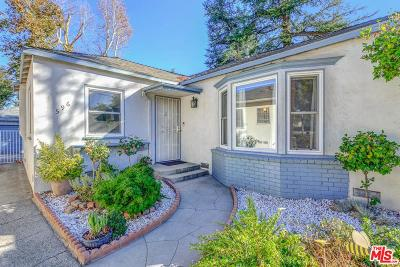Pasadena Single Family Home For Sale: 596 North Sierra Madre