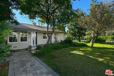 Burbank Single Family Home Active Under Contract: 3120 West Clark Avenue