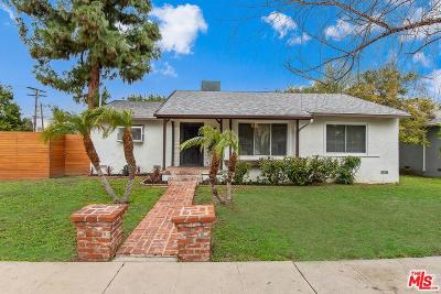 Tarzana Single Family Home Active Under Contract: 19231 Friar Street