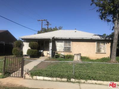 Compton Single Family Home For Sale: 2407 West Alondra