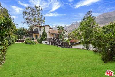 Los Angeles County Single Family Home For Sale: 3806 Las Flores Canyon Road