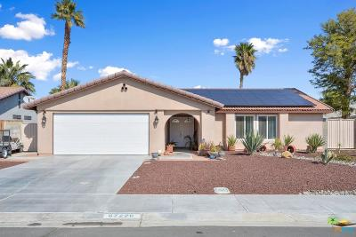 Cathedral City Single Family Home Active Under Contract: 67220 Quijo Road