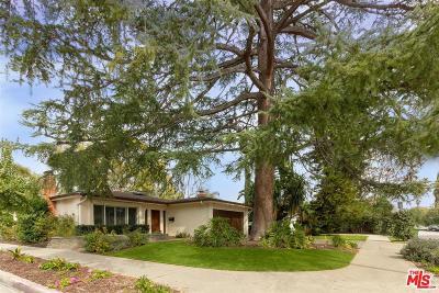 Toluca Lake Single Family Home For Sale: 11247 Kling Street