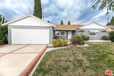 Van Nuys Single Family Home For Sale: 17139 Willard Street