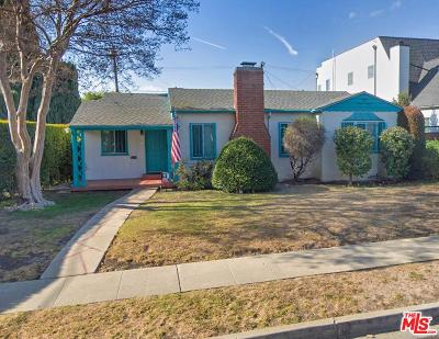 Beverlywood Vicinity (C09) Single Family Home For Sale: 1631 South Durango Avenue