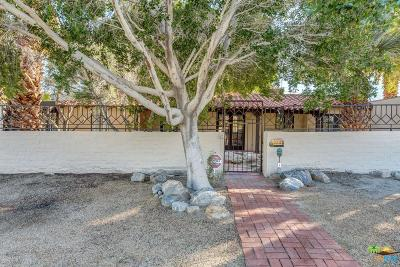 Palm Springs Single Family Home Active Under Contract: 333 West Cabrillo Road