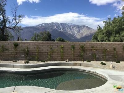 Palm Springs Single Family Home Active Under Contract: 3651 Western Sky Way