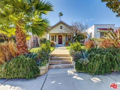 Los Angeles Single Family Home Active Under Contract: 1313 Keniston Avenue