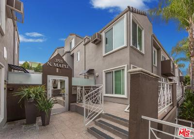 Burbank Condo/Townhouse Active Under Contract: 355 North Maple Street #223