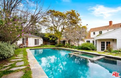 Pacific Palisades Single Family Home For Sale: 13857 West Sunset Boulevard