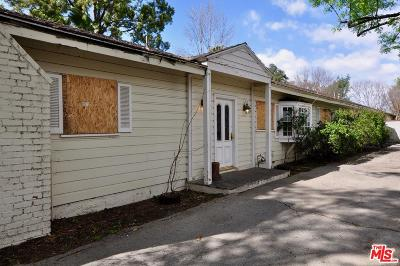 Valley Village Single Family Home Active Under Contract: 4821 Radford Avenue