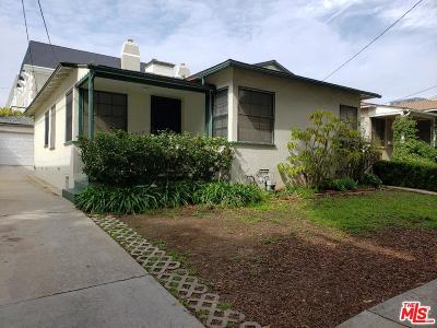 Santa Monica Single Family Home For Sale: 3019 Arizona Avenue