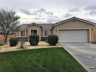 Indio Single Family Home Active Under Contract: 82741 Larsen Drive