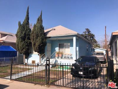 Los Angeles Single Family Home For Sale: 943 East 52nd Street