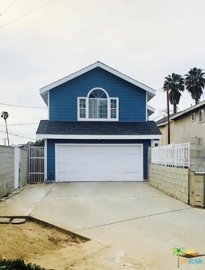 Long Beach Single Family Home For Sale: 1465 Temple Avenue